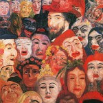Ensor_Self-Portrait with Masks