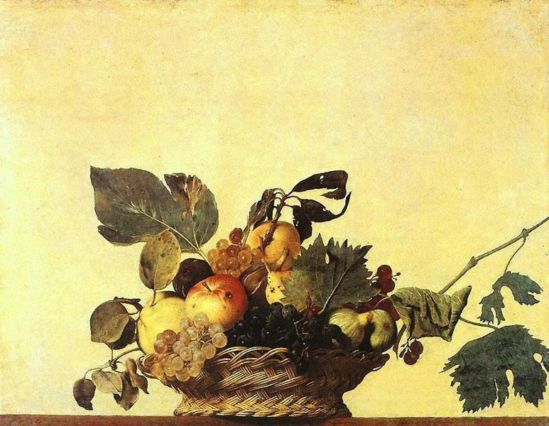 Basket-of-Fruit-by-Caravaggio