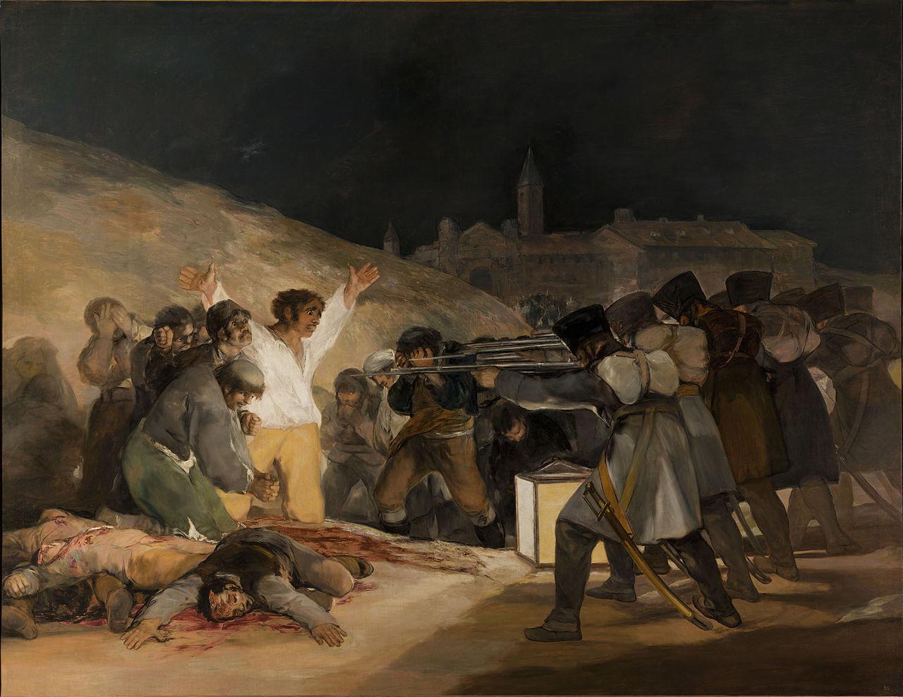 ゴヤ『マドリード、1808年5月3日』