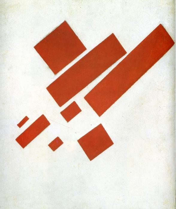 マレーヴィチ「シュプレマティズム」