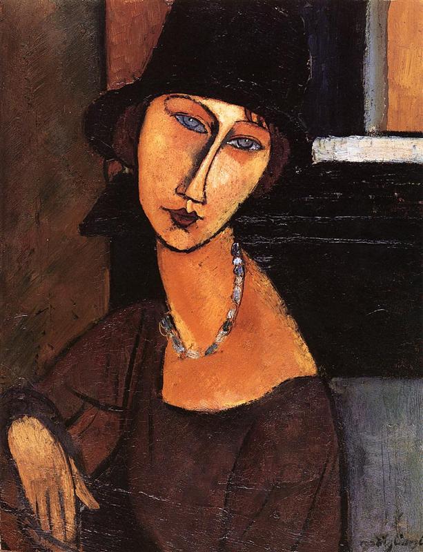 モディリアーニ「ジャンヌ・エビュテルヌの肖像」